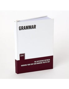 Say it to My Face A5 Notebook - Grammar