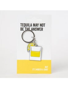 Say it to My Face Keyring - Tequila