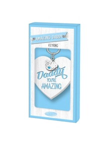 Me To You Fathers Day Keyring - Amazing Daddy