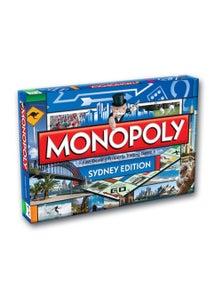 Monopoly Board Game Sydney Edition