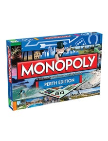 Monopoly Board Game Perth Edition