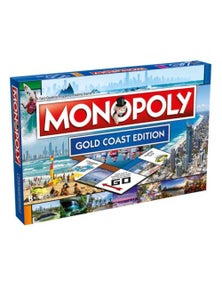 Monopoly Board Game Gold Coast Edition