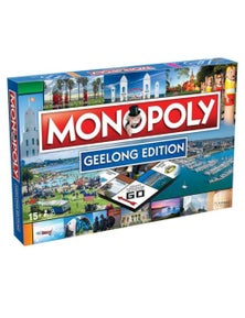Monopoly Board Game Geelong Edition