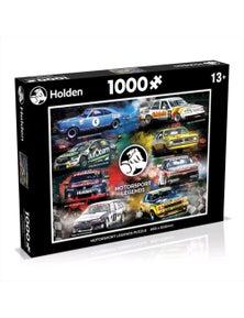 Holden Motorsports Legends Puzzle 1000Pc