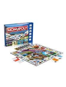 Monopoly Board Game - Australian Community Relief Edition