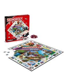 Monopoly Australian Community Relief Jigsaw Puzzle 1000pc