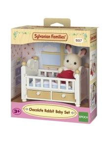 Sylvanian Families - Chocolate Rabbit Baby Set