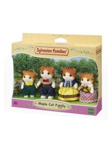 Sylvanian Families - Maple Cat Family