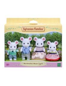 Sylvanian Families - Marshmallow Mouse Family