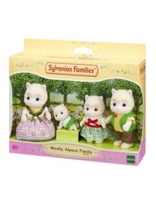 Sylvanian Families - Woolly Alpaca Family