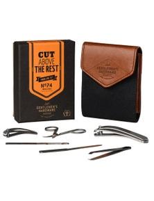 Gentlemen's Hardware Manicure Set (Charcoal)