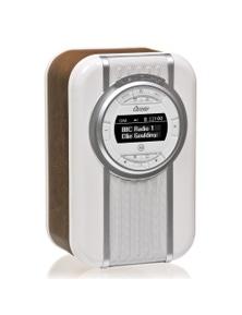 Brown View Quest Christie DAB+ FM Digital Radio/LED Bluetooth Portable Speaker