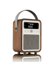 VQ Monty DAB+/Digital Radio/FM/Bluetooth Alarm ClockWalnut