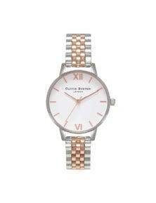 Olivia Burton White Dial Watch