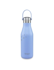 Ohelo Blue Bottle With Etched Swallow - 500ml
