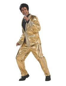 Rubies Elvis Gold Suit Collectors Edition Costume