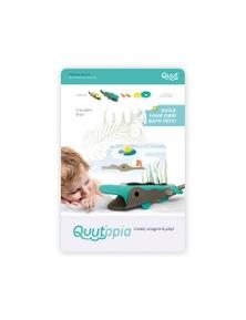 Quut - Quutopia Bath Toys Crocodile River 6Pc