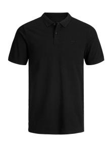 Jack Jones Men's Polo In Black