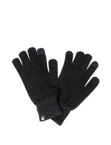 Jack Jones Men's Gloves In Black