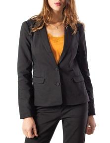 Vila Clothes Women's Blazer In Black