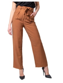 Vila Clothes Women's Trousers In Brown