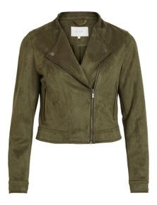 Vila Clothes Women's Blazer In Green