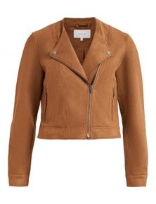 Vila Clothes Women's Blazer In Brown