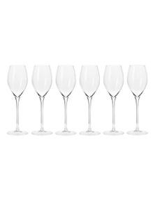 Krosno Harmony Prosecco Glasses 280ml 6pc Gift Boxed