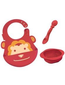 Marcus & Marcus Baby Feeding Set - Red Lion