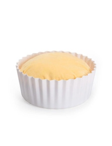 Bargene Pidan Cupcake Egg Tart Pet Cat Bed Cushion House Soft Warm Kennel Mat Blanket Washable