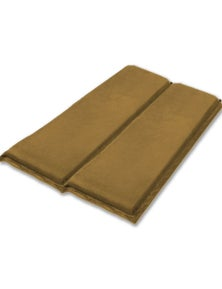 Bargene Self Inflating Mattress Sleeping Suede Mat Air Bed Camping Camp Hiking Joinable