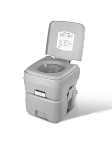 Bargene 20L Outdoor Portable Camping Toilet 50 Flush