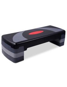 Bargene 3 Levels Aerobic Workout Home Gym 4 Block Bench Step Stepper
