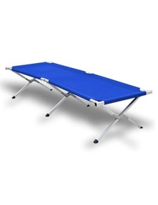 Bargene Camping Bed Folding Stretcher Light Weight W/ Carry Bag Camp Portable