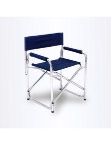 Bargene Directors Aluminium Folding Chair Camping Picnic Director Fishing Foldable