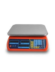 Bargene Kitchen Scale Digital Commercial Postal Shop Electronic Weight Scales Food 40Kg - Orange