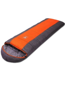 Bargene Camping Envelope Twin Sleeping Bag Thermal Tent Hiking Winter 0 Degree C