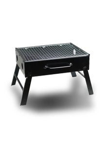 Bargene Outdoor Camping Portable & Foldable Charcoal Bbq Grill Hibachi Picnic Barbecue