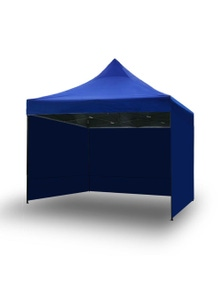 Bargene Pop Up Gazebo Outdoor Tent Folding Marquee Party Camping Market Canopy W/ Side Wall