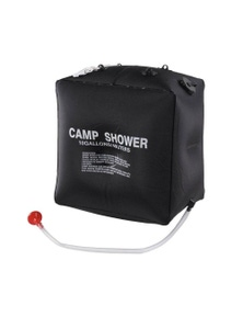 Bargene Craig Camp Shower Bag Solar Heated Water Pipe Portable Camping Hiking Travel