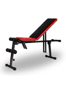Bargene Adjustable Sit Up Weight Fid Bench Fitness Flat Incline Decline Press Gym Home