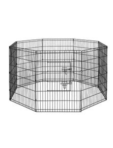 Bargene 8 Panel Pet Dog Playpen Puppy Exercise Cage Enclosure Fence Play Pen