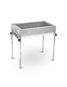 Bargene Stainless Steel Portable Outdoor Bbq Barbecue Grill Set Charcoal Kebab Picnic Camping Sets