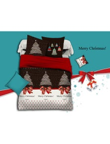 Fabric Fantastic Merry Christmas Quilt Cover Set