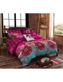 Fabric Fantastic Mandala Quilt Cover Set