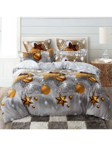 Fabric Fantastic Christmas Gift Quilt Cover Set