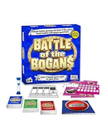 Battle of The Bogans Card Game