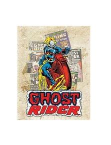 Ghost Rider Cover Splash Tin Sign