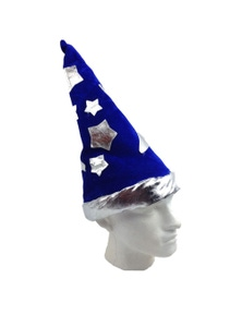 WIZARD HAT Costume Fancy Dress Accessory ONE SIZE Suitable for Adults & Kids New