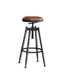 Levede  Vintage Style 2 Pcs Industrial Swivel Adjustable Height Bar Stool